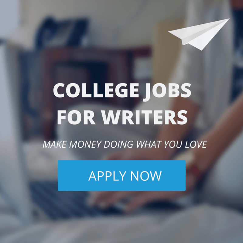 college jobs for writers
