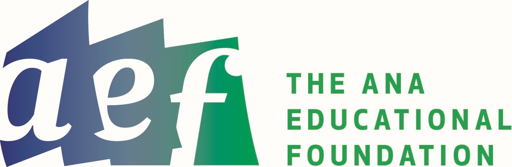 The ANA Educational Foundation Logo