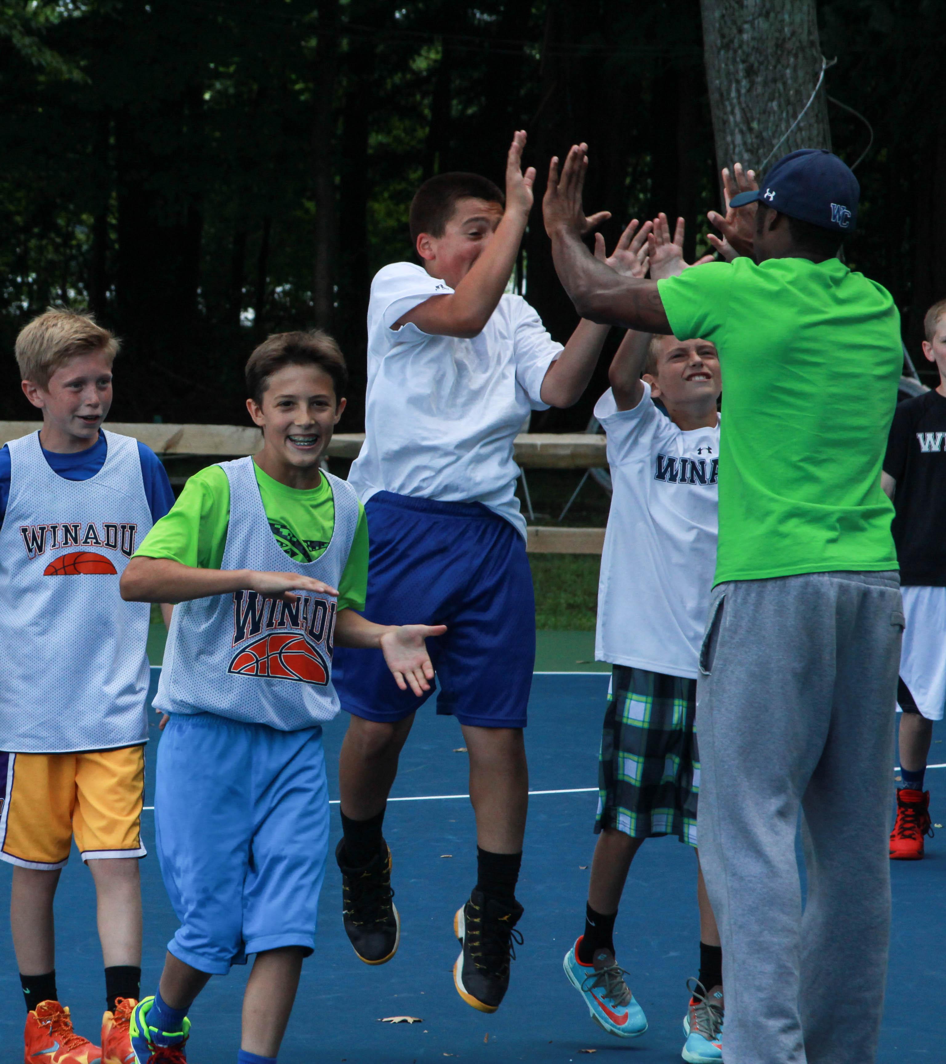 Summer Camp Basketball Coach