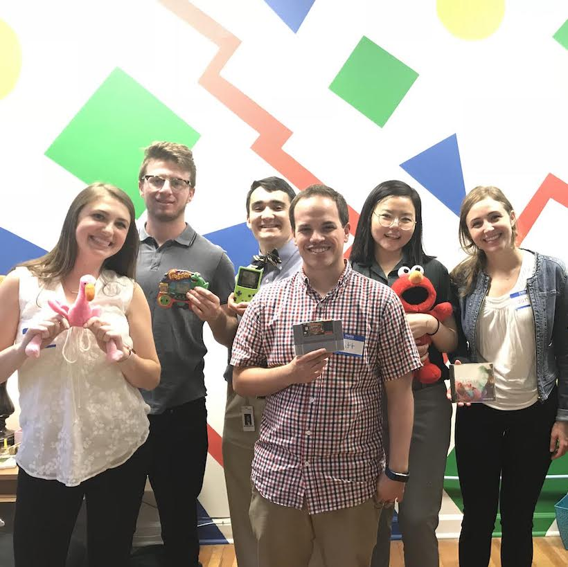 Nielsen Chicago Interns Escape the Room!